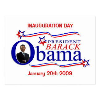 Obama Inauguration Day Celebration Postcard