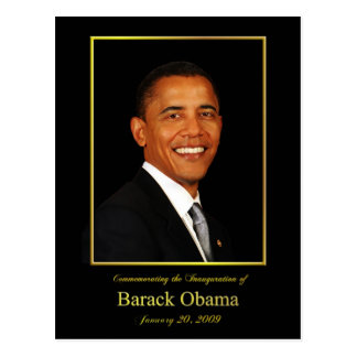Obama Inauguration Invitation Postcard