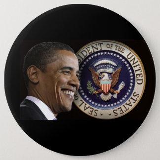 Obama Inauguration Keepsake 6 Inch Round Button