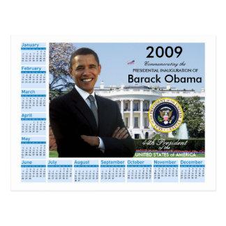 Obama Inauguration - Keepsake Calendar 2009 Postcard