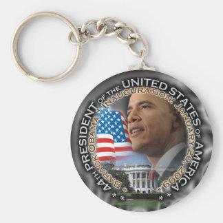 Obama - Inauguration Keychain