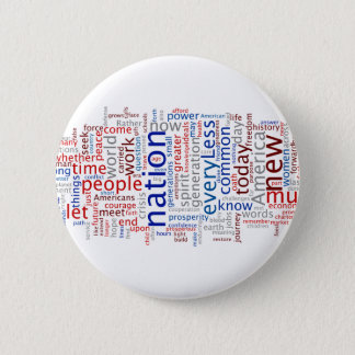 Obama Inauguration Speech Button