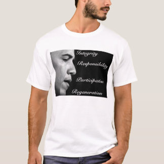 Obama inauguration speech tshirt. T-Shirt