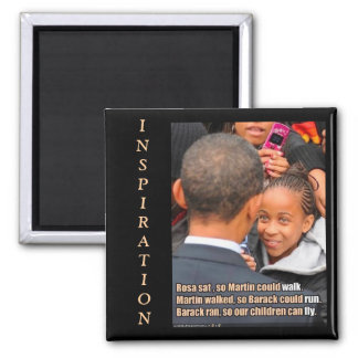 OBAMA-Inspirational Magnet