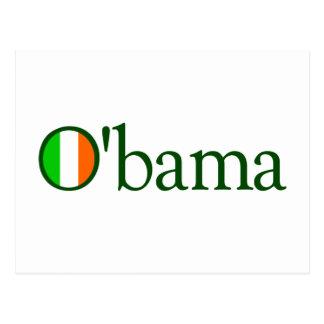 Obama Irish Postcard