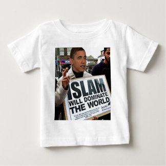 Obama is a Muslim. Baby T-Shirt
