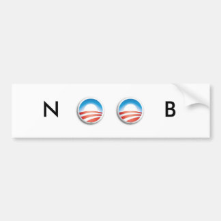 Obama is a NOOB Bumper Sticker