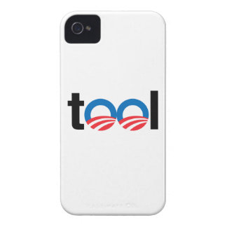 OBAMA IS A TOOL iPhone 4 Case-Mate CASES
