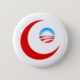 Obama is Muslim 2 Inch Round Button