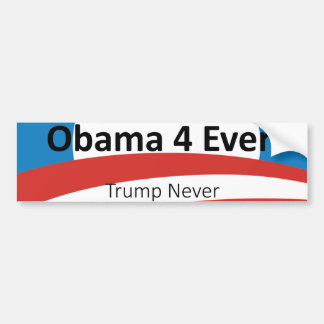 Obama Is My President Dump Trump Bumper Sticker
