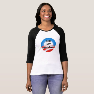 Obama Is My President Women's Tshirt