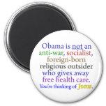 Obama & Jesus Magnets