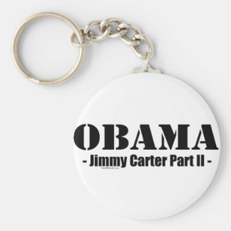Obama - Jimmy Carter Part II Keychain