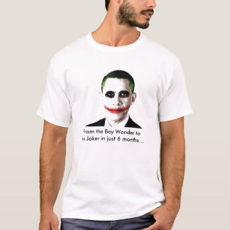 obama joker, From the Boy Wonder tothe Joker in... T-Shirt