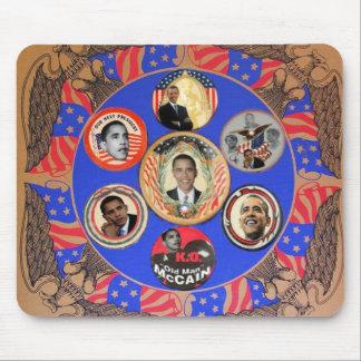 Obama Kaleidoscope Mousepad