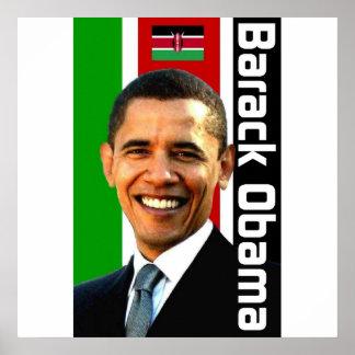 Obama Kenyan Heritage Poster