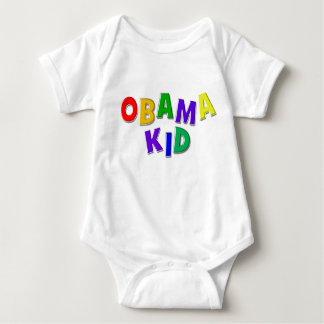 Obama kid baby bodysuit