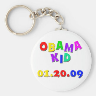 Obama kid keychain