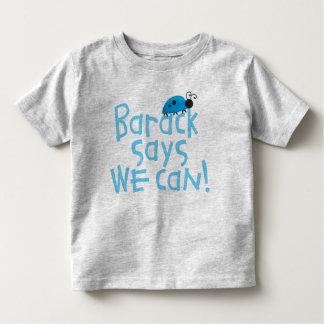 "Obama Kids - ""Barack Says We Can"" for Boys Tee Shirts"