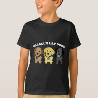 Obama Lap Dogs - The Mainstream Media T-Shirt