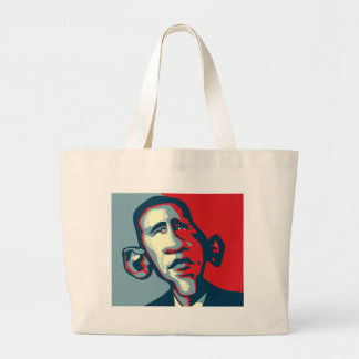 Obama Large Tote Bag