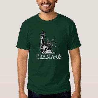 obama liberty3 t-shirt
