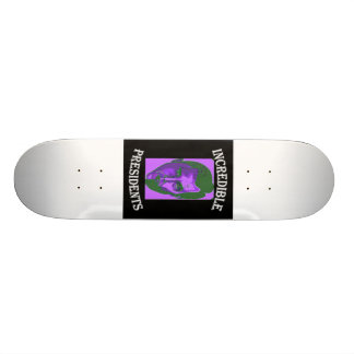 Obama, Lincoln Skateboard Old School 21,6 Cm