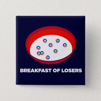 Obama Logo Parody - Breakfast of Losers button