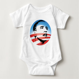 Obama Logo - Plain Baby Bodysuit