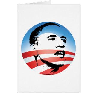 Obama Logo - Plain Greeting Card