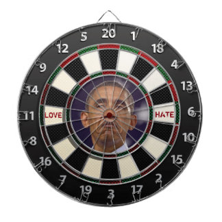 Obama LOVE or HATE Dartboard
