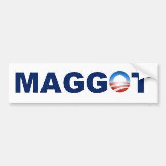 Obama Maggot Bumper Sticker