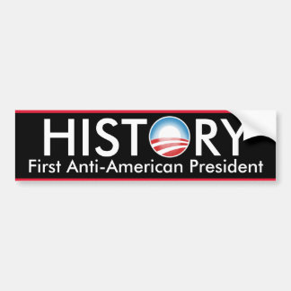 Obama Makes History Bumper Sticker
