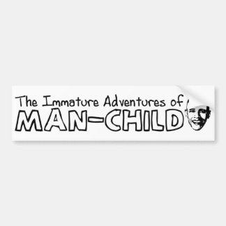 Obama Man-Child Bumper Sticker