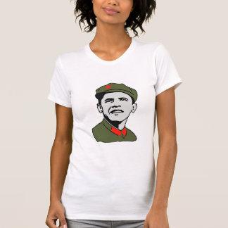 Obama Mao Ladies Shirt