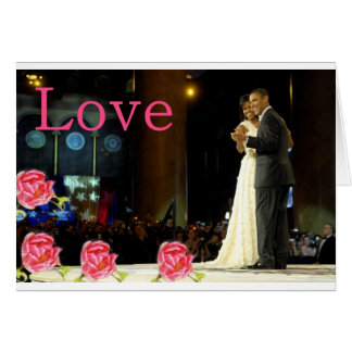 Obama-Michelle Love Card