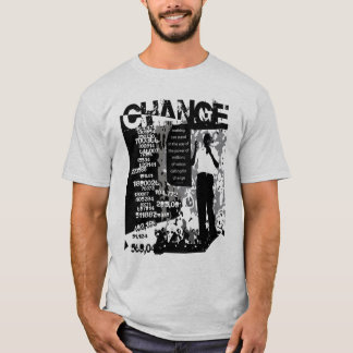 Obama Millions for CHANGE t-shirt 2nd edition