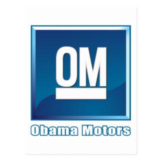 Obama Motors logo Postcard