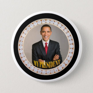 Obama: My President 3 Inch Round Button