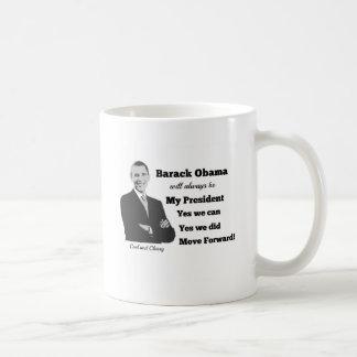 Obama My President Move Forward Mug