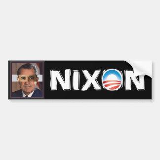 Obama - Nixon Fast and Furious Scandal Car Bumper Sticker