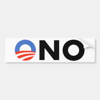 Obama No Bama Nobama Oh No Obama Bumper Stickers