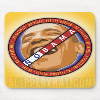 "Obama ""Nobama"" Mousepad"