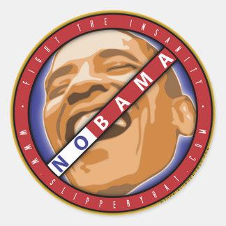 """Obama """"Nobama"""" Sticker"""