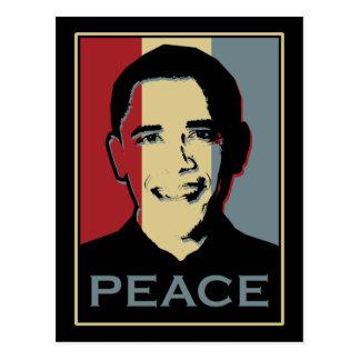 Obama Nobel Peace Prize Postcard