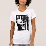 Obama noir et blanc t-shirts