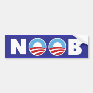 Obama Noob Bumper Sticker