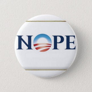 Obama Nope 2 Inch Round Button