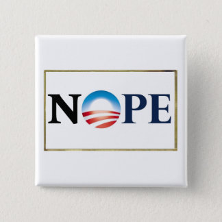 Obama NOPE Button