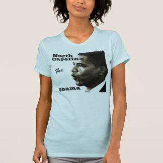 Obama, North, Carolina, For, Obama - Customized T-Shirt